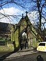 Unitarian Church, Monton, Lychgate - geograph.org.uk - 681154.jpg