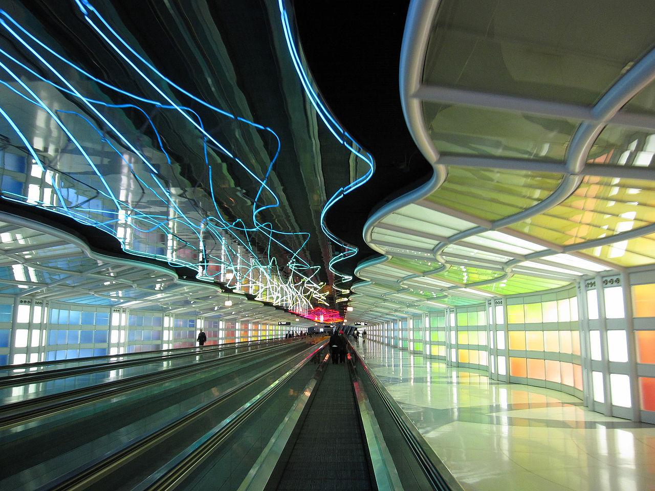 O Hare letisko Chicago