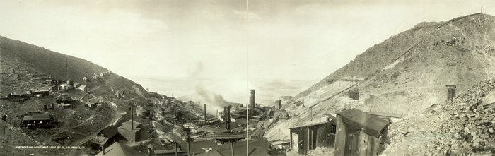 Panorama of the United Verde Smelter as it appeared around 1909, before the mine became an open-pit operation United Verde Smelter (Jerome, Arizona).png