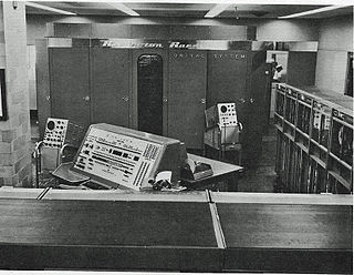 UNIVAC II vacuum tube commercial computer released in 1958