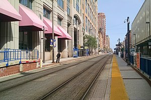 University Center Baltimore Street station, August 2014.jpg