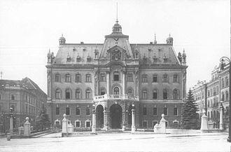University of Ljubljana - University administrative building in 1929