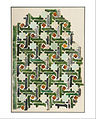 Unknown, Spain, 14th Century - Mosaic Tile Panel - Google Art Project (1929293).jpg