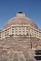 Upper Circumambulatory Passageway Landing - South Gateway - Stupa 1 - Sanchi Hill 2013-02-21 4529.JPG