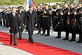 Uradni obisk predsednika Republike Slovenije in vrhovnega poveljnika obrambnih sil Boruta Pahorja na Ministrstvu za obrambo decembra 2014 13.jpg