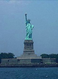 Statue Of Liberty Crown Coloring Page