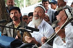 Eurasian (mixed ancestry) - Uyghurs in Yarkand, Xinjiang