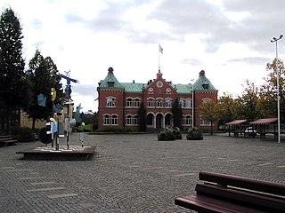 Värnamo Place in Småland, Sweden