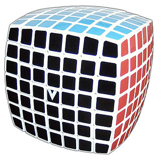 V-Cube 7 - The V-Cube 7 in solved state