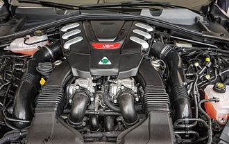 Alfa Romeo Stelvio - 2.9 L V6 Quadrifoglio Twin Turbo engine