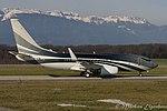 VP-CZW Boeing B737-7JW-W BBJ B737 - Wuleen Invetment Corp. (24454788752).jpg