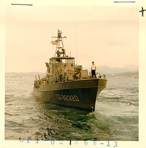 USCGC Point Kennedy (WPB-82320) - Image: VTN Pt Kennedy Subic sm