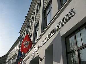 Vilnius University Institute of International Relations and Political Science - Institute of International Relationas and Political Science