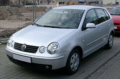 Volkswagen Polo IV przed liftingiem