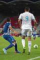 Valais Cup 2013 - OM-FC Porto 13-07-2013 - Otamendi et André-Pierre Gignac.jpg