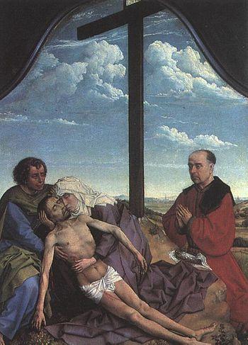 Pieta de Rogier van der Weyden (1450)