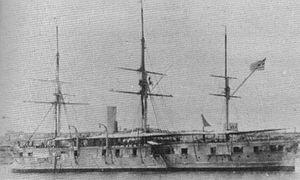 Greek ironclad Vasilissa Olga - Image: Vasilissa Olga ship