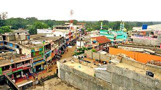Vavuniya City in Sri Lanka