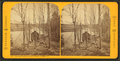 Vermont Springs, (from the bank), Sheldon, Vt, from Robert N. Dennis collection of stereoscopic views.png