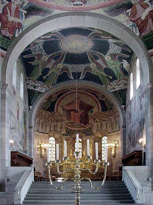Joakim Skovgaard - Skovgaard's frescos in Viborg Cathedral
