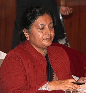 President of Nepal - Image: Vidhya Bhandari 2