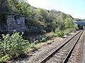 View from a Chester-Holyhead train - Industrial workings near Llysfaen (geograph 5904004).jpg