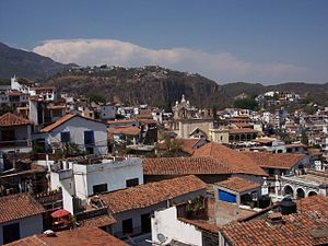The capital city, Taxco de Alarcón