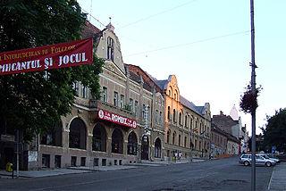 Tășnad Town in Satu Mare, Romania