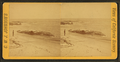 View of man standing at the beach, by Johnson, C .W. J. (Charles Wallace Jacob), 1833-1903.png
