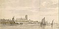View of the Groote Kerk in Dordrecht from the River Maas MET DT3341.jpg