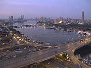 View of the Nile from Hilton