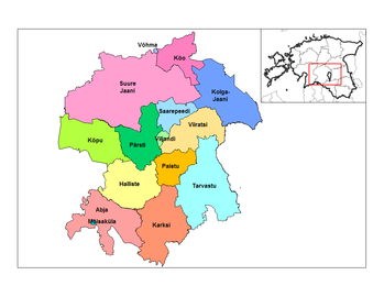 hiiumaa kaart regio