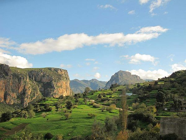 Village de Bni Hassan . au sud de Tetouan