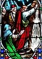 Villeréal - Église Notre-Dame - Vitrail de l'histoire de Moïse - 3.jpg