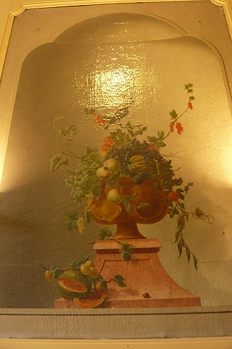 Vincent Jansz van der Vinne - Image: Vincent Jansz van der Vinne Gedempte Oude Gracht bloemen met watermeloen