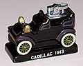 Vintage 1913 Cadillac Ceramic Table Lighter, 3.5 Inches Wide, Made In Japan By Amico, Copyright 1964 (24547026597).jpg
