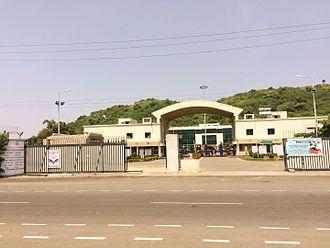 Hindustan Petroleum - HP oil refinery in Visakhapatnam