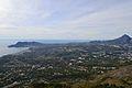 Vista de la Marina Baixa des de la Serra de Bèrnia.JPG