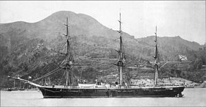 Steam frigate - Russian steam corvette ''Vityaz''