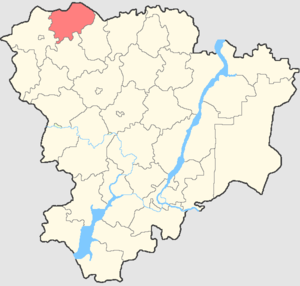 Novonikolayevsky District - Image: Volgogradskaya oblast Novonikolaevsky rayon