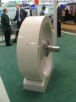 Flywheel - An industrial flywheel