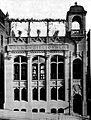 Volksbibliothek Silberburgstr. 191 Stuttgart, Architekten Eisenlohr und Weigle erbaut 1899, Foto v. 1902, Quelle Annette Schmidt, Ludwig Eisenlohr. Ein architekt. Weg v. Historismus z. Moderne. Stuttgart 2006.JPG