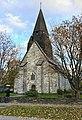 Voss Church (Voss kirke-kyrkje, Vangskyrkja) 13th-c stone church, Voss, Norway 2016-10-25 -04- front.jpg