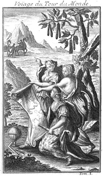 "Giovanni Francesco Gemelli Careri - Title image taken from a French translation of the book: ""Voyage du Tour du Monde"""