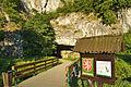 Vstup do jeskyní, přírodní rezervace Sloupško-Šošůvské jeskyně, okres Blansko.jpg