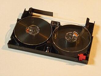 VXA - Image: Vxa tape cartridge nocover top rear