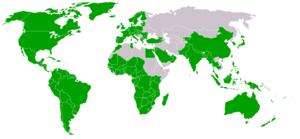 Pays membres de l'OMC