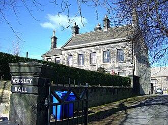 Wadsley - Wadsley Hall.