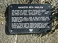 Wall plaque at Rathmullen Priory - geograph.org.uk - 895853.jpg