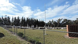 Wallangarra, Queensland - Wallangarra cemetery, 2015